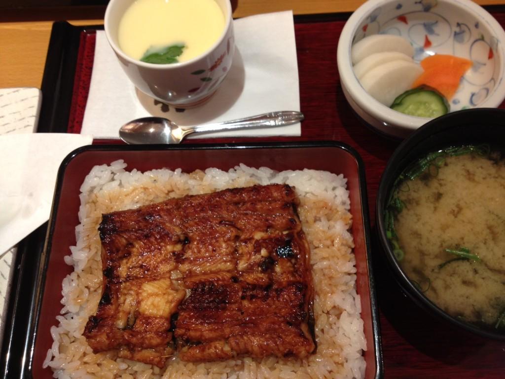 鶴ヶ島市で鰻を戴きました