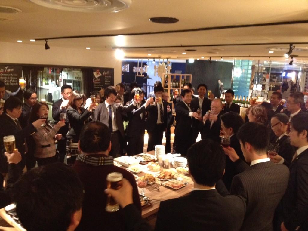 3月15日(水)俱楽部2010交流パーティー開催!