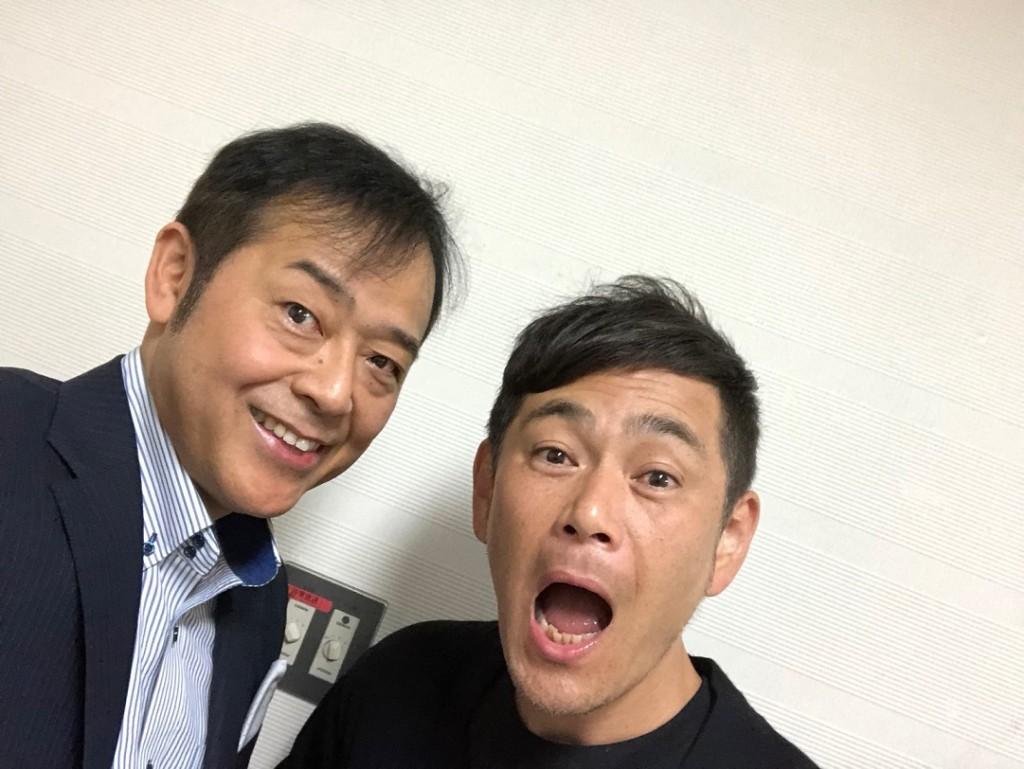 ココリコの遠藤章造さんと一緒に鳥取県主催講演会に登壇しました。