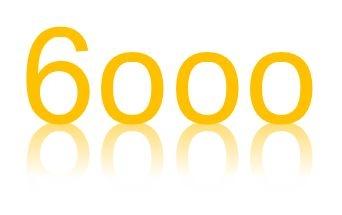 6000お祝い